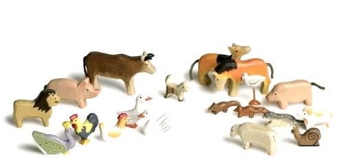 Holzspielzeug Tiere
